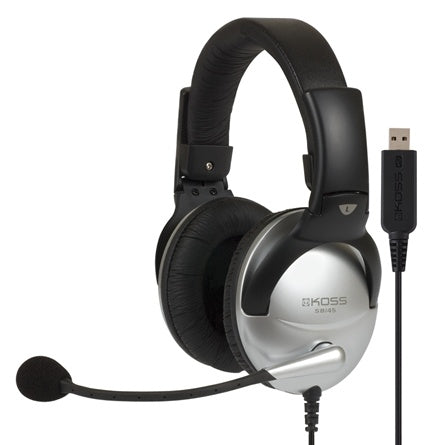 USB Multimedia Headset with Mic - Learning Headphones