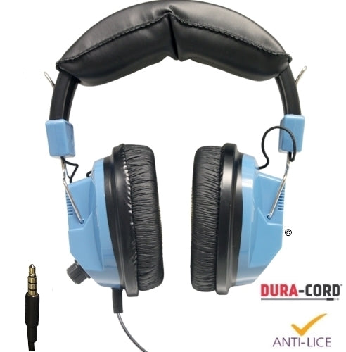 Deluxe School Headset with In-Line Microphone TRRS Plug - Learning Headphones