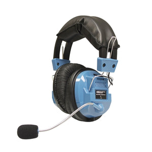 Deluxe School Headset with Microphone and TRRS Plug - Learning Headphones