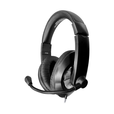 Smart-Trek Deluxe Stereo Headset with Volume Control and USB Plug