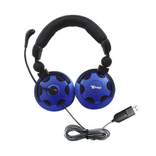 Load image into Gallery viewer, T-PRO USB Headset with Noise-Cancelling Mic - Learning Headphones