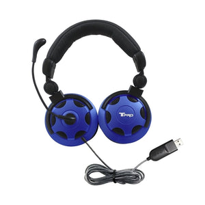 T-PRO USB Headset with Noise-Cancelling Mic - Learning Headphones