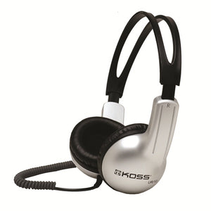 Koss UR10CC Portable Headphone with Coiled Cord - Learning Headphones