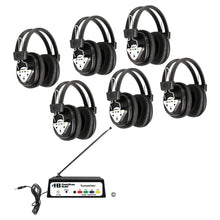 Load image into Gallery viewer, Wireless Listening Center 4 Station with Headphones and Bluetooth Transmitter - Learning Headphones