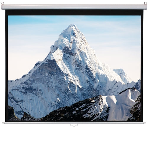 70'' x 70'' WS-W70 - Matte White Fabric - Square Format Projector Screen - Learning Headphones