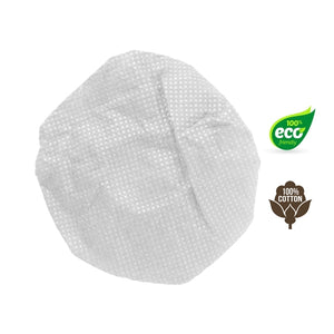 HygenX Sanitary Disposable Microphone Covers - 100% Cotton - Box of 100 - Learning Headphones