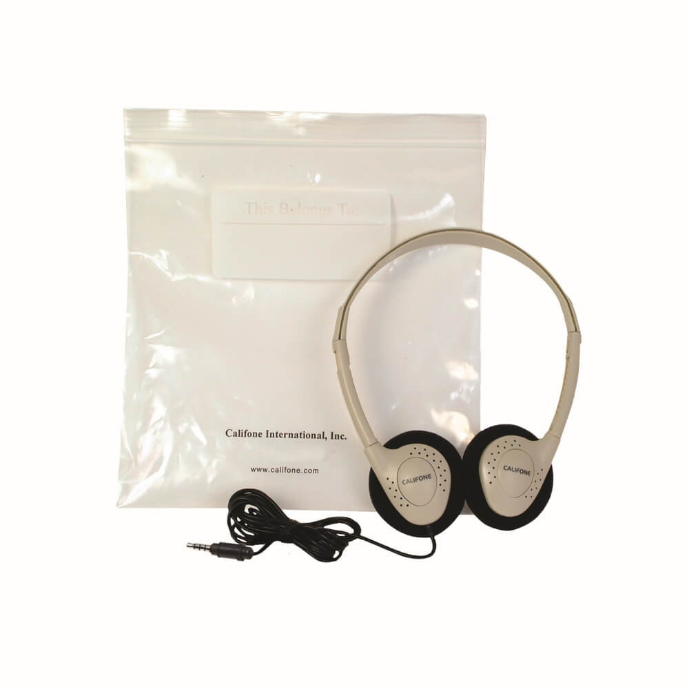 Individual Storage Headphone Califone - Learning Headphones