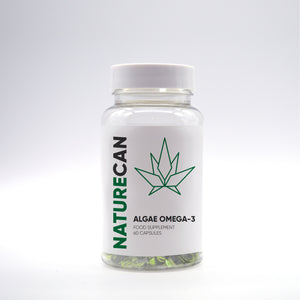 Omega-3 algae – 60 kapslar-Naturecan SE