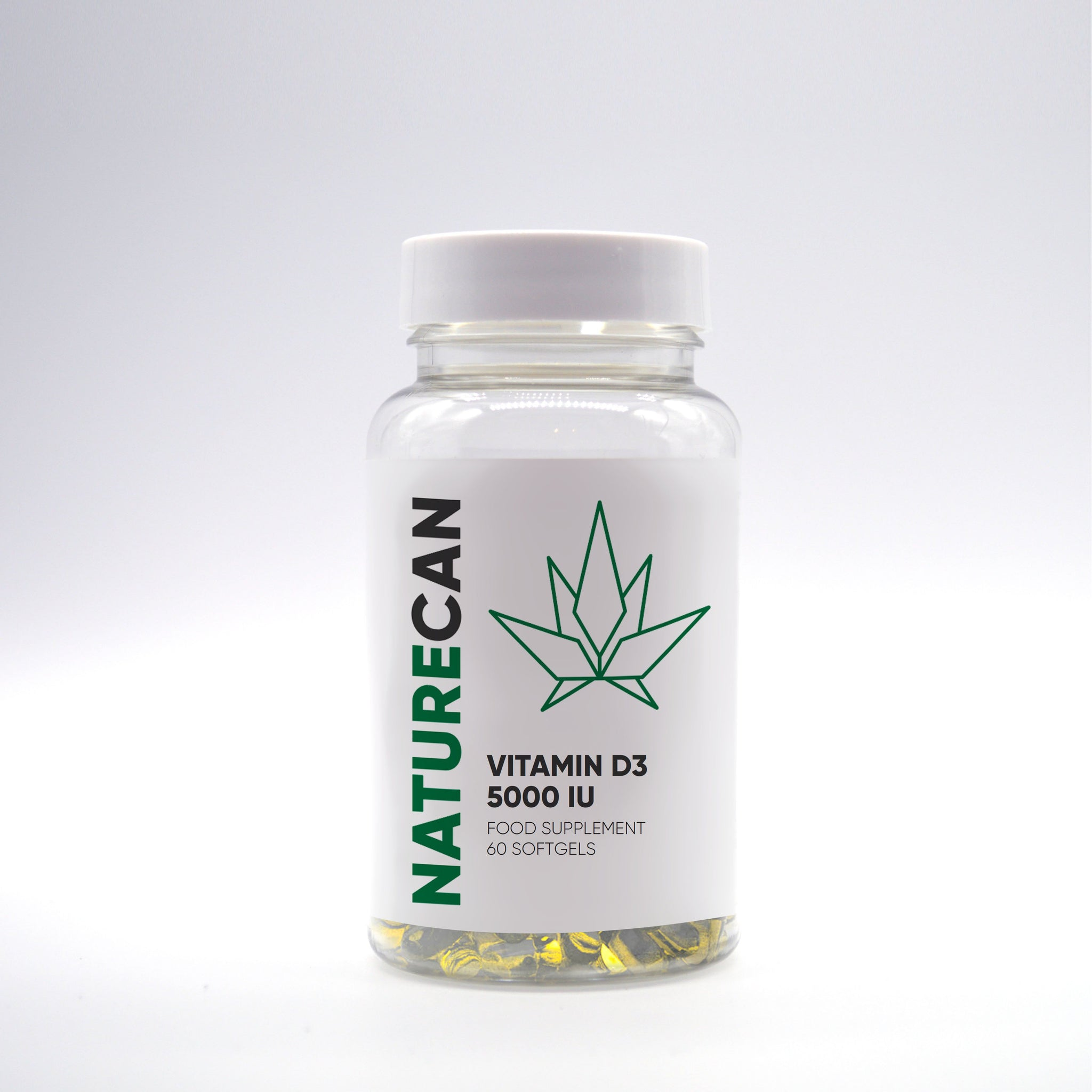 D3-vitamin 5,000 IU – 60 kapslar-Naturecan SE