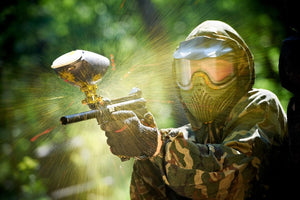 Bournemouth, Paintball with 300 Balls
