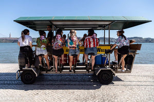 Lisbon Beer Bike - Very Into Partying