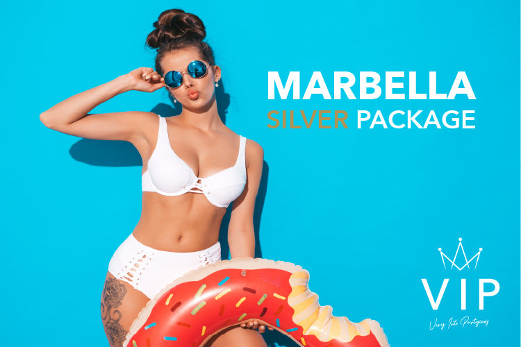 Marbella Silver Package - Very Into Partying