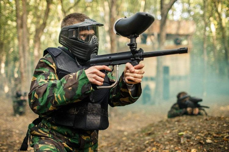 Brighton, Paintball Half Day With 300 Balls