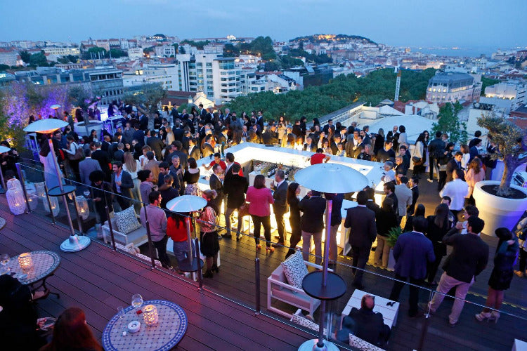 Lisbon Roof Top Bar Crawl - Very Into Partying