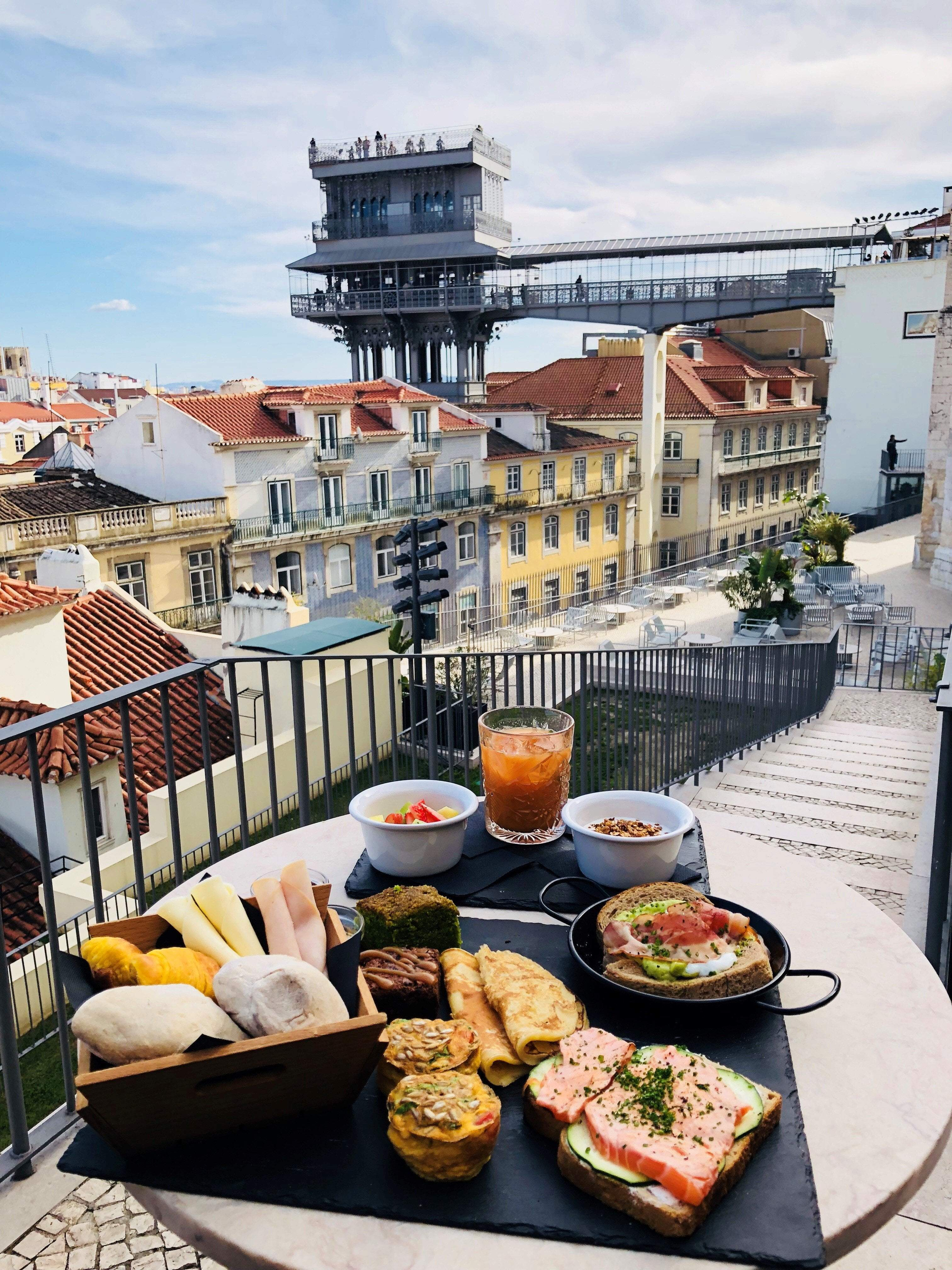 Lisbon Rooftop Brunch - Very Into Partying
