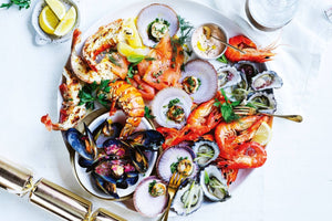 Vilamoura Seafood Platter & Wine - Very Into Partying