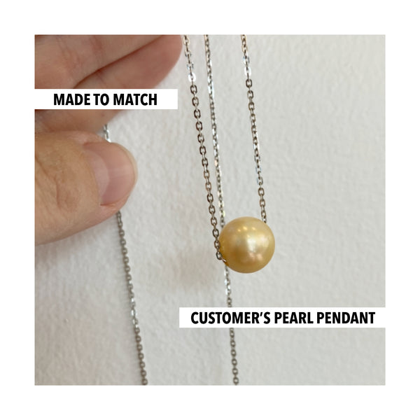 Made to Match - Pearl Pendant