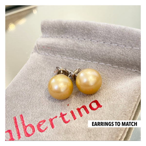 Made to Match - Pearl Earrings