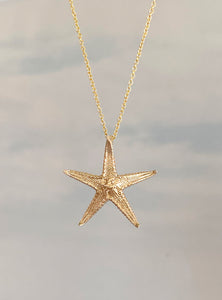 Little Starfish Pendant Necklace