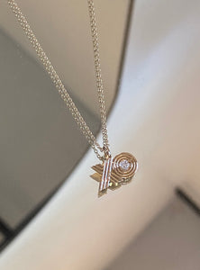 XO Pendent Necklace