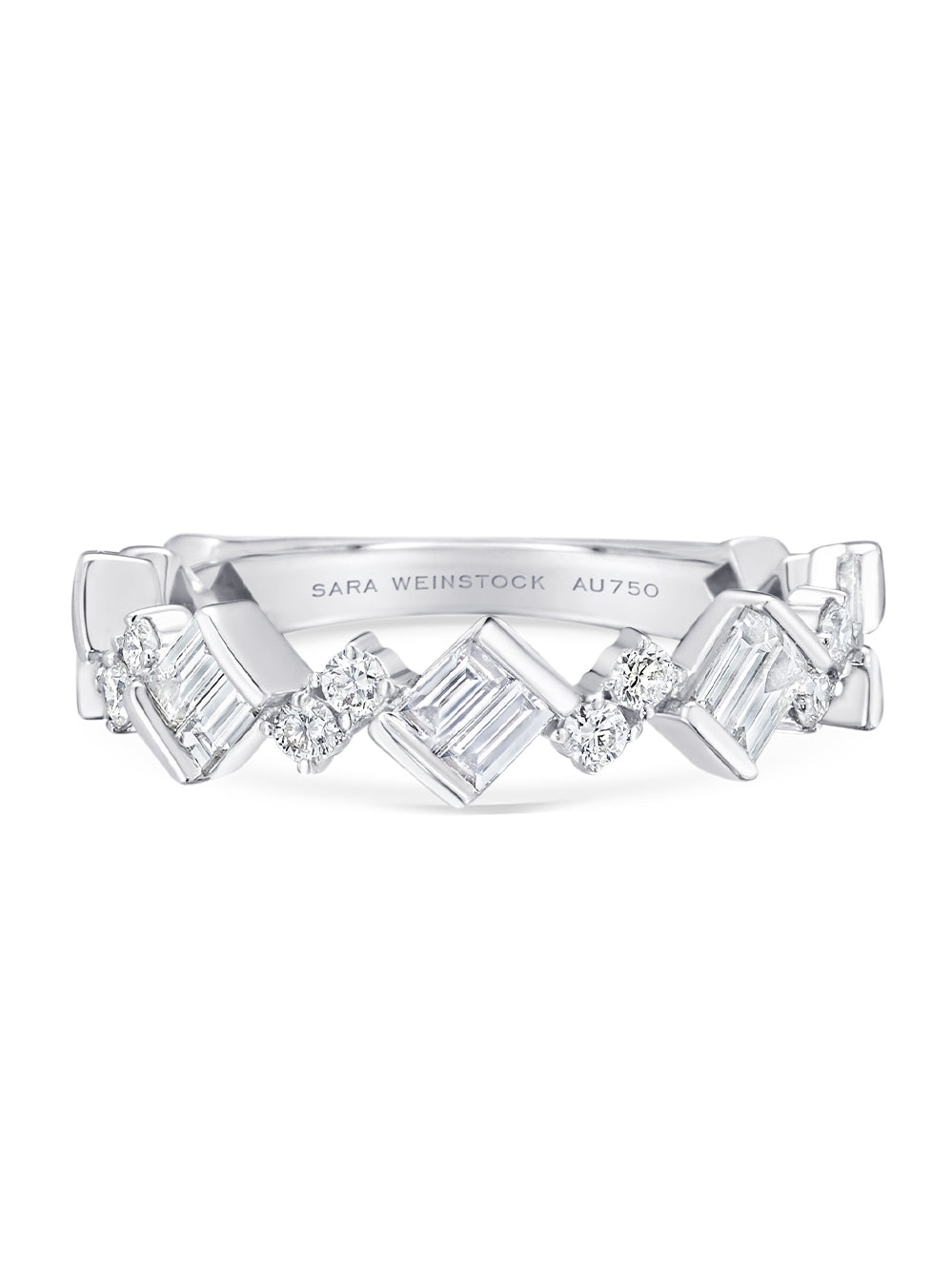 Braided Taj Diamond Band