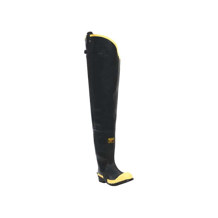 "LaCrosse Insulated Storm Hip Boot 31"" Black ST - Baker's Boots and Clothing"