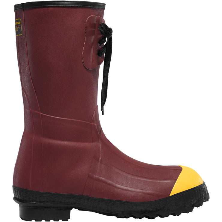 "LaCrosse 12"" Insulated Pac Red ST - Baker's Boots and Clothing"