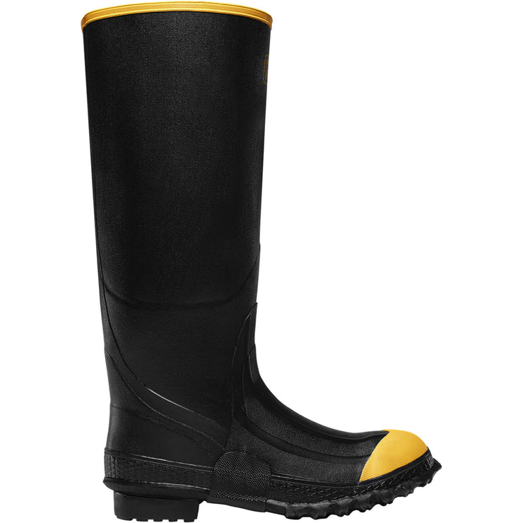 "LaCrosse Premium Knee Boot 16"" Black ST - Baker's Boots and Clothing"