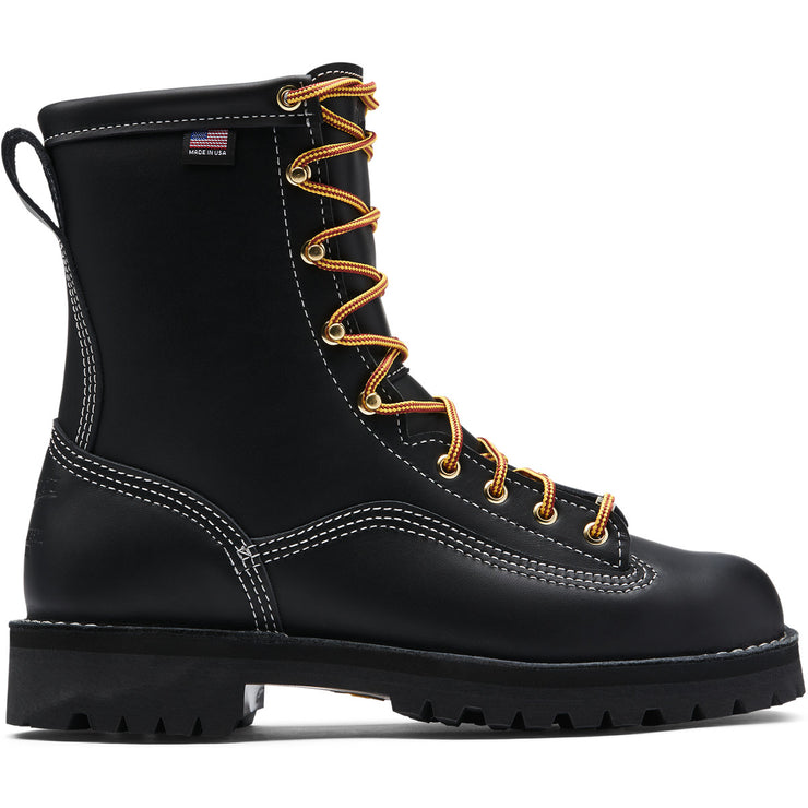 "Danner Super Rain Forest 8"" Black NMT - Baker's Boots and Clothing"
