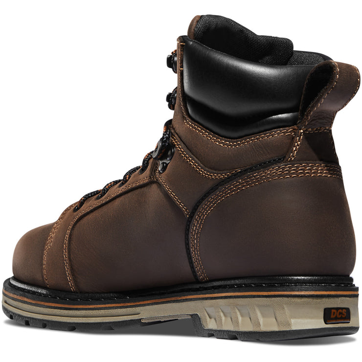 "Danner Steel Yard 6"" Brown Hot ST - Baker's Boots and Clothing"