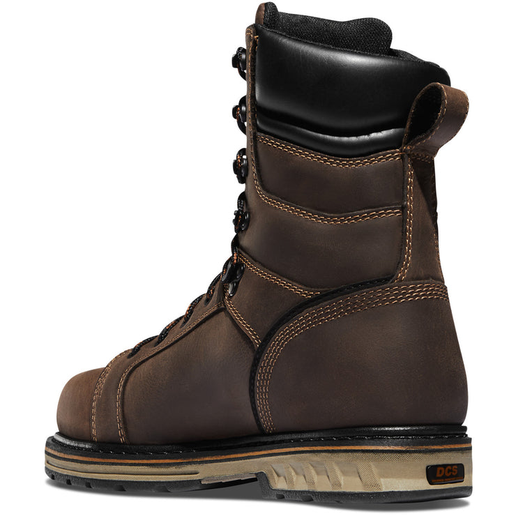 "Danner Steel Yard 8"" Brown ST - Baker's Boots and Clothing"