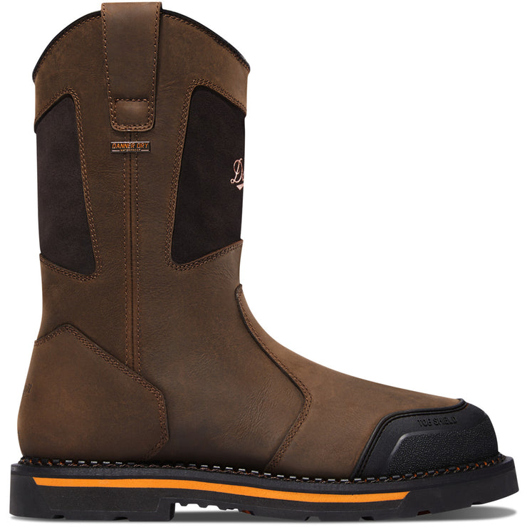 "Danner Trakwelt Wellington 11"" Brown NMT - Baker's Boots and Clothing"