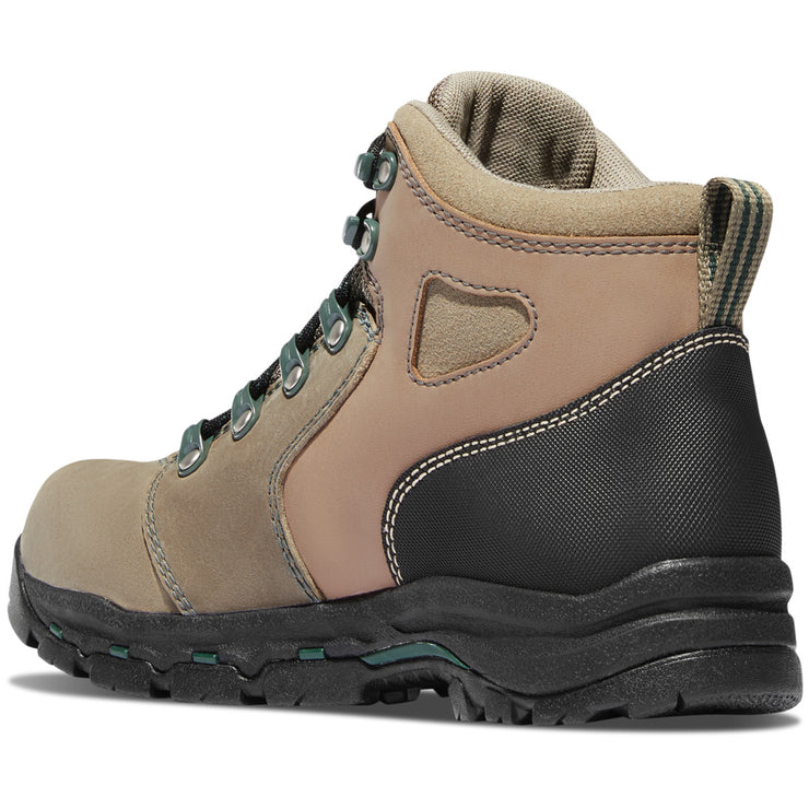 "Danner Women's Vicious 4"" Brown/Green NMT - Baker's Boots and Clothing"