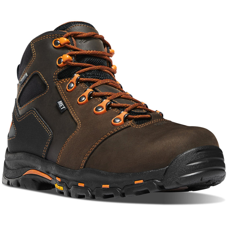 "Danner Vicious 4.5"" Brown/Orange MET/NMT - Baker's Boots and Clothing"