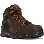 "Danner Vicious 4.5"" Brown/Orange NMT - Baker's Boots and Clothing"