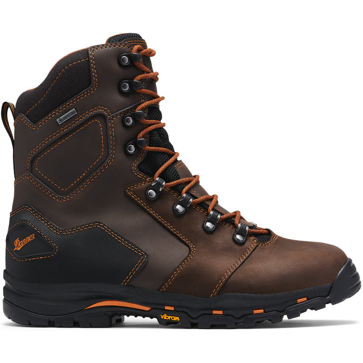 "Danner Vicious 8"" Brown NMT - Baker's Boots and Clothing"
