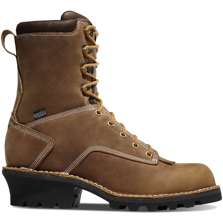 "Danner Logger 8"" Brown 400G NMT - Baker's Boots and Clothing"
