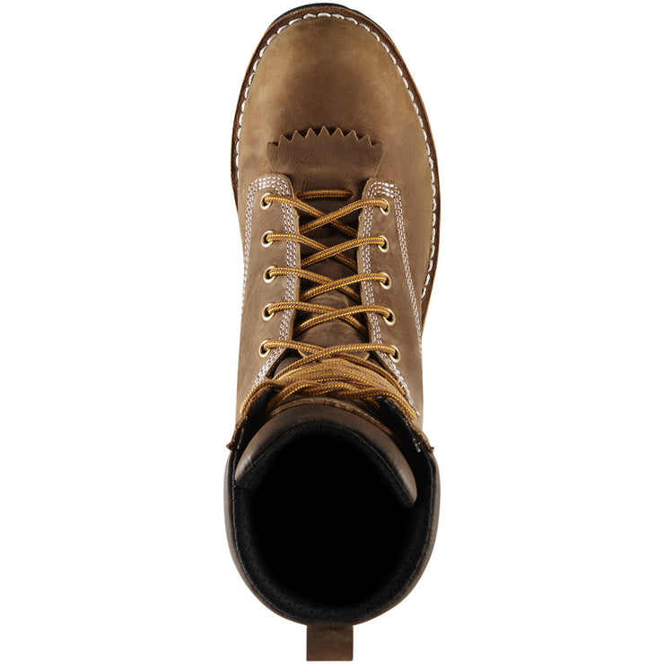 "Danner Logger 8"" Brown - Baker's Boots and Clothing"