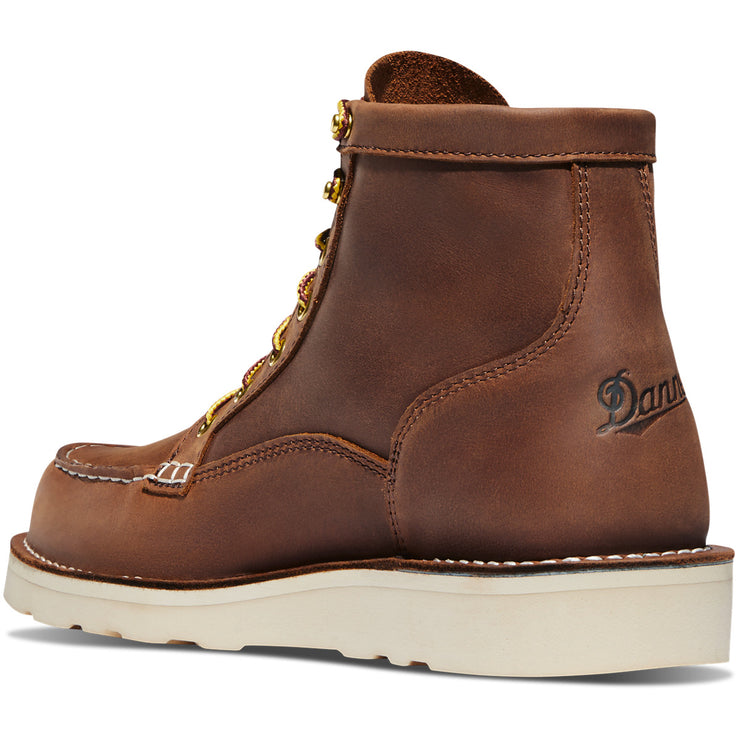 "Danner Bull Run Moc Toe 6"" Tobacco - Baker's Boots and Clothing"