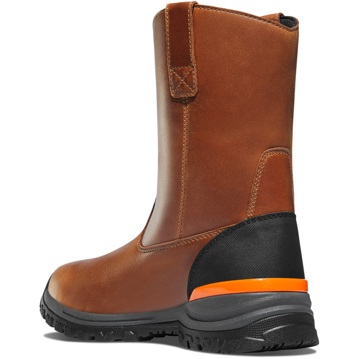 "Danner Stronghold Wellington 10"" Brown Hot - Baker's Boots and Clothing"