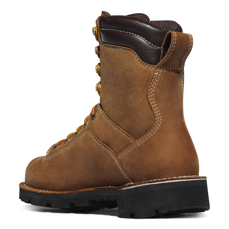 "Danner Quarry USA 8"" Distressed Brown - Baker's Boots and Clothing"