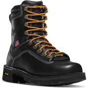 "Danner Women's Quarry USA 7"" Black - Baker's Boots and Clothing"