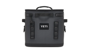 YETI HOPPER FLIP 12 SOFT COOLER - CHARCOAL - Baker's Boots and Clothing
