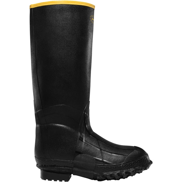 "LaCrosse ZXT Knee Boot 16"" Black Foam - Baker's Boots and Clothing"