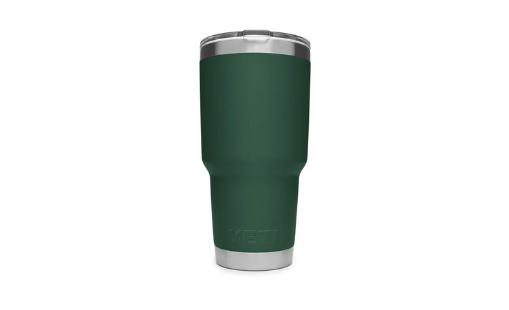 YETI RAMBLER 30 OZ TUMBLER WITH MAGSLIDER LID - GREEN - Baker's Boots and Clothing