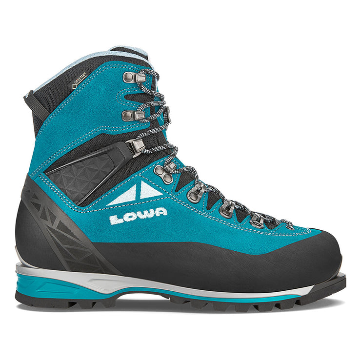 Lowa Alpine Expert GTX Women's- Turquoise/Ice Blue - Baker's Boots and Clothing