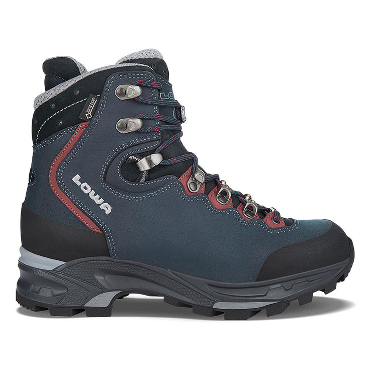 Lowa Mauria GTX Women's- Dark Blue/Bordeaux - Baker's Boots and Clothing