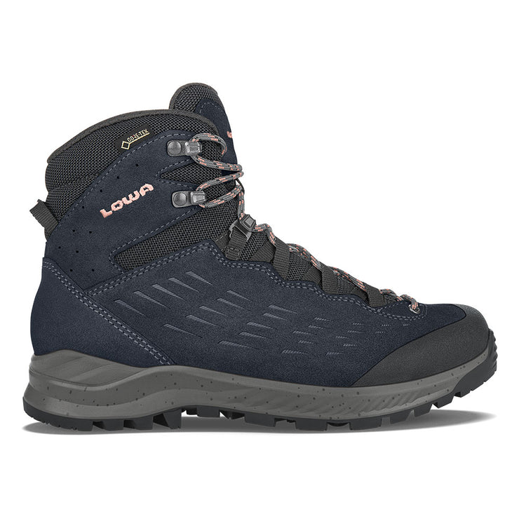 Lowa Explorer GTX Mid Women's- Navy/Rose - Baker's Boots and Clothing