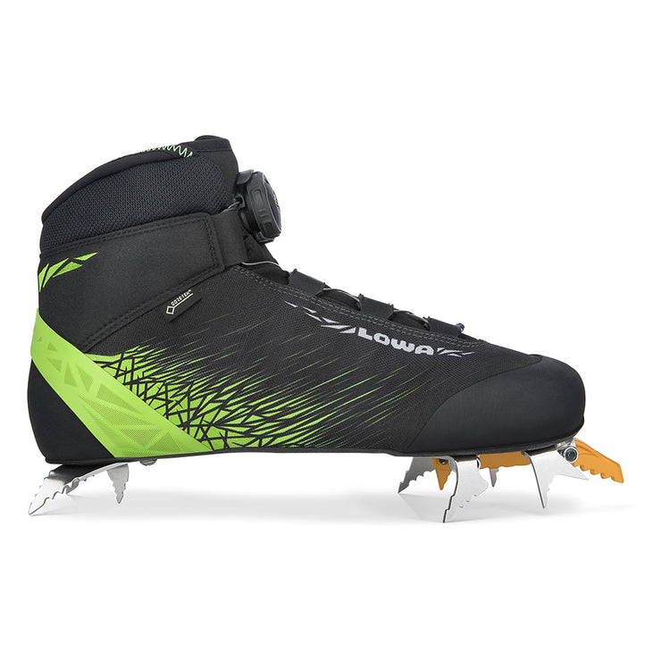 Lowa Ice Rocket GTX - Black/Lime - Baker's Boots and Clothing