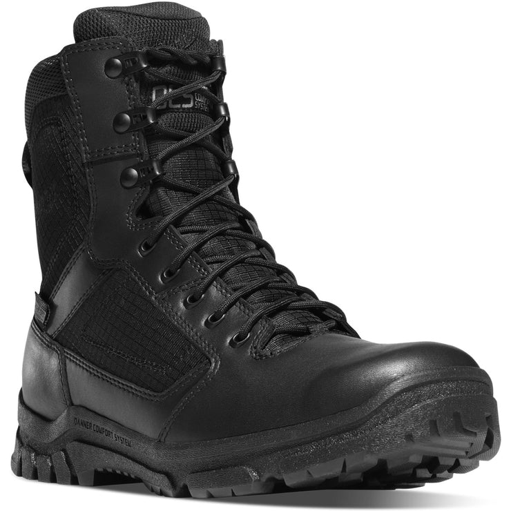 "Danner Lookout 8"" Black - Baker's Boots and Clothing"